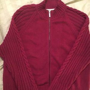 Liz Claiborne zippered Sweater